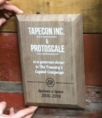 Tapecon and Protoscale Sponsor The Foundry Buffalo