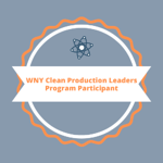 WNY Clean Production Leader Badge