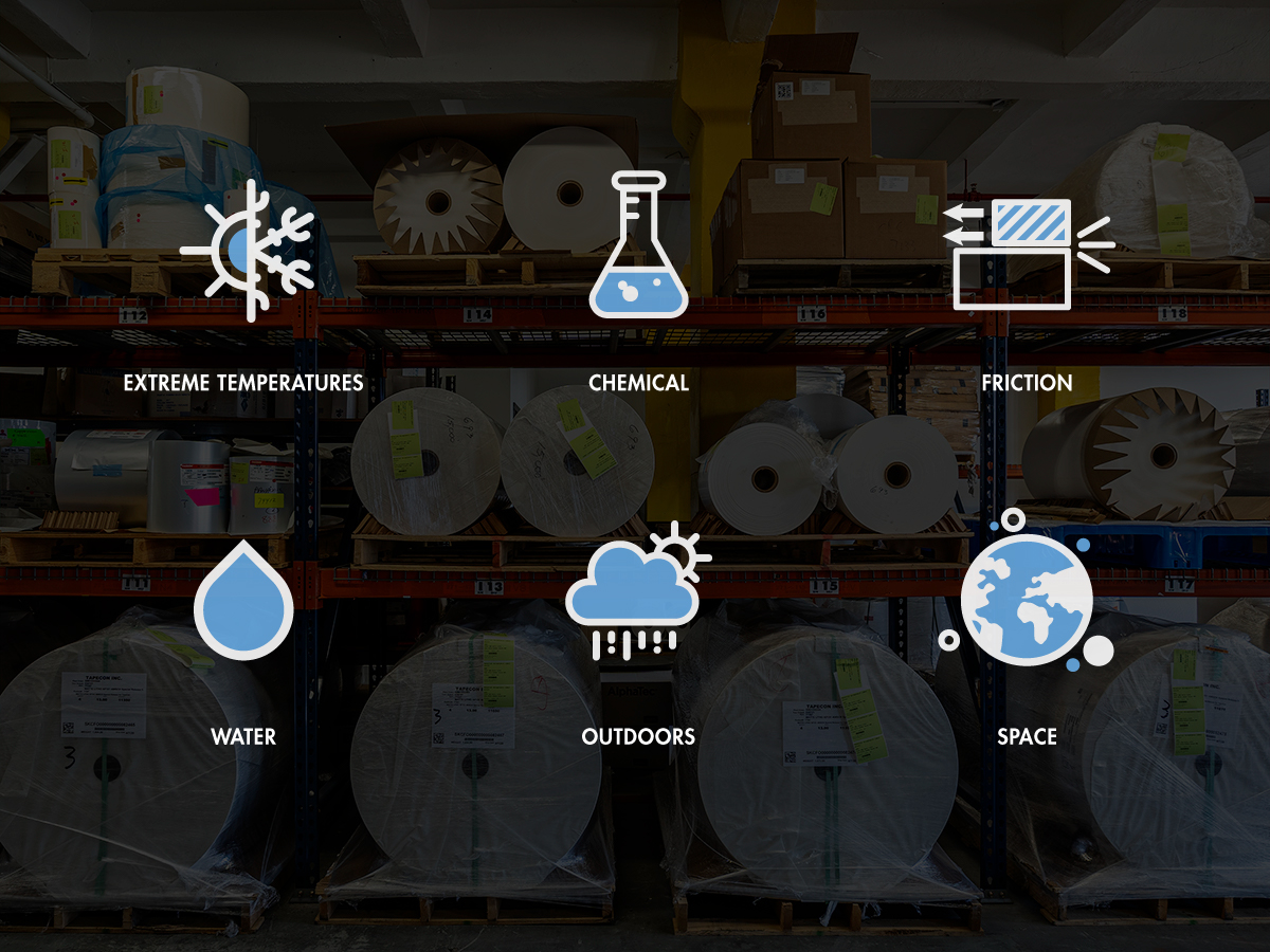 Designing Products to Thrive in Harsh Environments | Tapecon