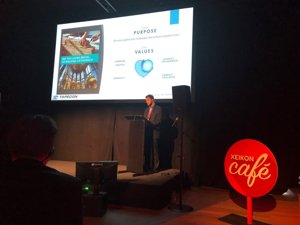 Steve Davis Speaks at Xeikon Café Europe - March 2019