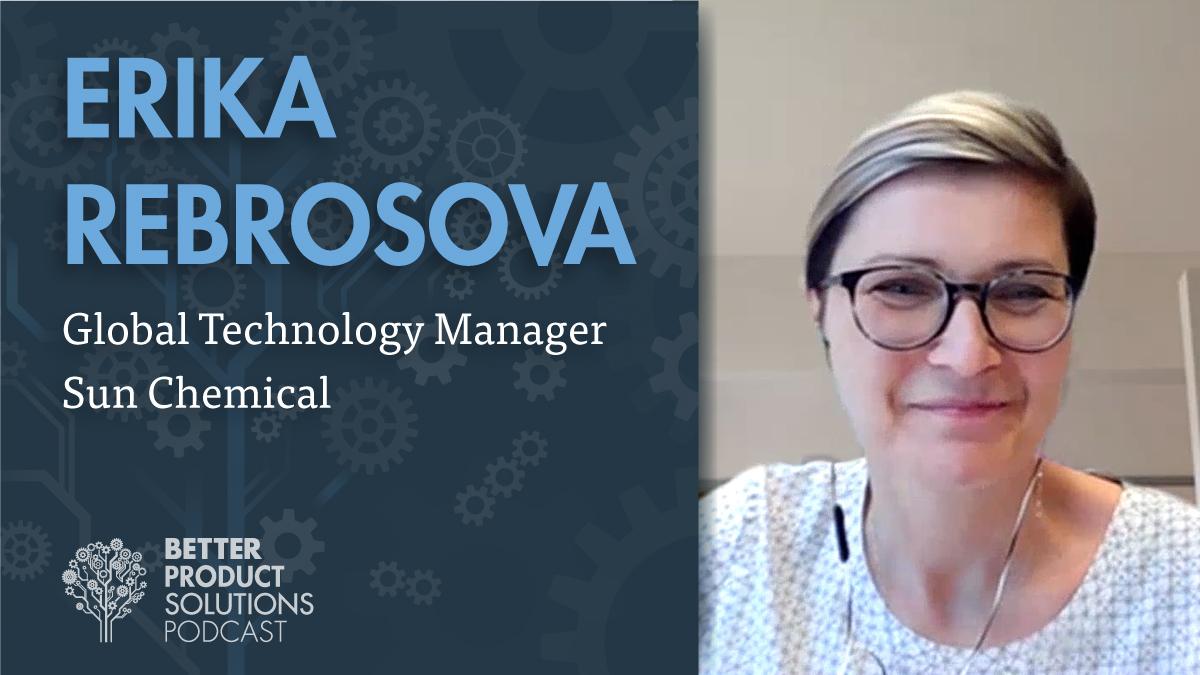 Podcast: Erika Rebrosova of Sun Chemical | Tapecon